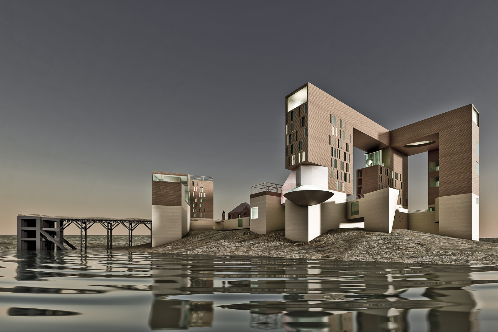 Antonino Cardillo, Isola di Birnbeck, Weston-Super-Mare, RIBA, Urban Splash, 2007. IGC: Antonino Cardillo.